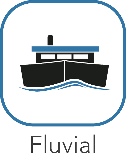 Transport multimodal - transport fluvial - Logways