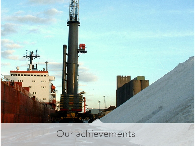 Key achievements – Transport and logistics