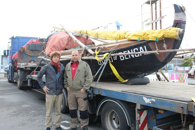 Logways a transporté le bateau Gold Of Bengal – Transport bateau