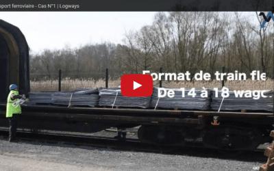 Transport rail, vidéo d'une solution Logways
