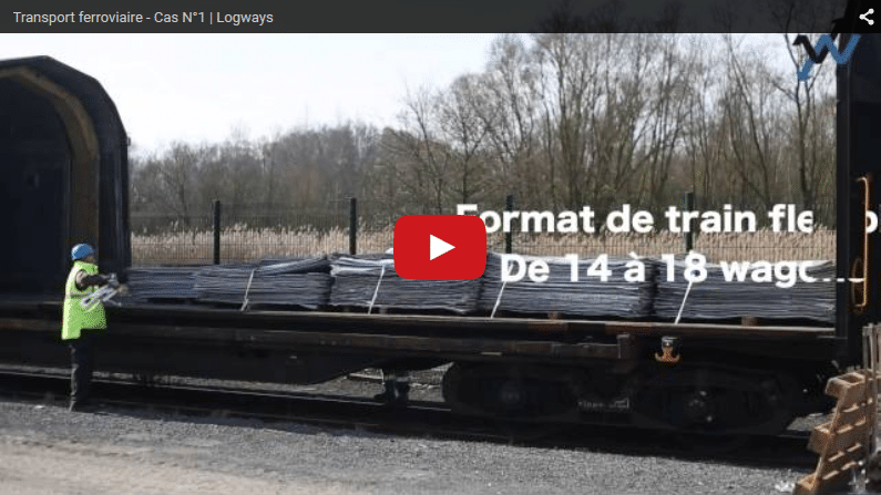 Transport rail, vidéo d'une solution Logways